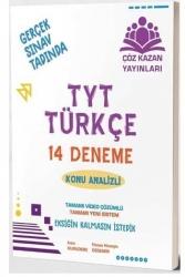 Çöz Kazan Yayınları - Çöz Kazan Yayınları TYT Türkçe 14 lü Tamamı Video Çözümlü Denemeleri