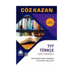 Çöz Kazan Yayınları - Çöz Kazan Yayınları TYT Türkçe Soru Bankası