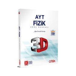 Çözüm Yayınları - Çözüm Yayınları AYT Fizik 3D Soru Bankası