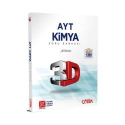 Çözüm Yayınları - Çözüm Yayınları AYT Kimya 3D Soru Bankası