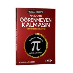 Çözüm Yayınları - Çözüm Yayınları Hocalara Geldik YKS DGS ALES KPSS Matematik Öğrenmeyen Kalmasın Video Konu Anlatımlı
