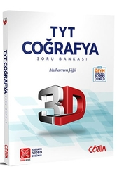 Çözüm Yayınları - Çözüm Yayınları TYT 3D Coğrafya Soru Bankası