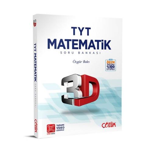 Çözüm Yayınları TYT 3D Matematik Soru Bankası