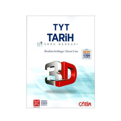 Çözüm Yayınları TYT 3D Tarih Soru Bankası