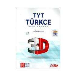 Çözüm Yayınları - Çözüm Yayınları TYT 3D Türkçe Soru Bankası