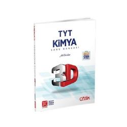 Çözüm Yayınları - Çözüm Yayınları TYT Kimya 3D Tamamı Video Çözümlü Soru Bankası