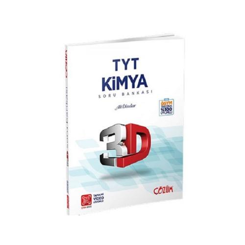 Çözüm Yayınları TYT Kimya 3D Tamamı Video Çözümlü Soru Bankası
