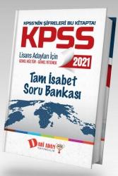 Dahi Adam Yayıncılık - Dahi Adam Yayınları 2021 KPSS Genel Kültür Genel Yetenek Tam İsabet Soru Bankası