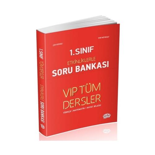 Data Yayınları 1. Sınıf VIP Tüm Dersler Etkinliklerle Soru Bankası