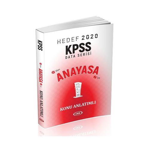Data Yayınları 2020 KPSS Anayasa Konu Anlatımlı