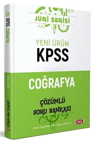 Data Yayınları 2020 KPSS Coğrafya Çözümlü Soru Bankası Jüri Serisi