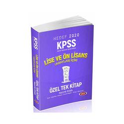 Data Yayınları - Data Yayınları 2020 KPSS Lise Ön Lisans GY GK Konu Anlatımlı Özel Tek Kitap