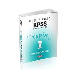 Data Yayınları - Data Yayınları 2020 KPSS Tarih Konu Anlatımlı