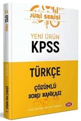 Data Yayınları - Data Yayınları 2020 KPSS Türkçe Çözümlü Soru Bankası Jüri Serisi