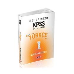 Data Yayınları - Data Yayınları 2020 KPSS Türkçe Konu Anlatımlı
