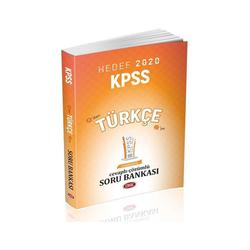 Data Yayınları - Data Yayınları 2020 KPSS Türkçe Soru Bankası