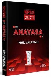Data Yayınları - Data Yayınları 2021 KPSS Anayasa Konu Anlatımlı