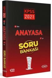 Data Yayınları - Data Yayınları 2021 KPSS Anayasa Soru Bankası