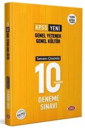 Data Yayınları - Data Yayınları 2021 KPSS Genel Yetenek Genel Kültür Tamamı Çözümlü 10 Deneme Sınavı