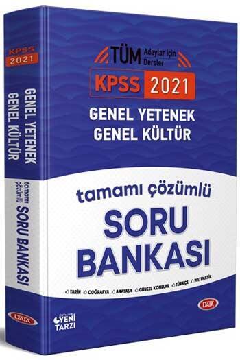 Data Yayınları - Data Yayınları 2021 KPSS Genel Yetenek Genel Kültür Tamamı Çözümlü Soru Bankası