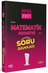 Data Yayınları - Data Yayınları 2021 KPSS Matematik Geometri Tamamı Çözümlü Soru Bankası