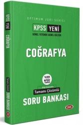Data Yayınları - Data Yayınları 2021 KPSS Optimum Jüri Serisi Coğrafya Çözümlü Soru Bankası
