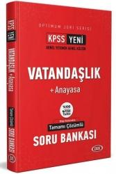 Data Yayınları - Data Yayınları 2021 KPSS Optimum Jüri Serisi Vatandaşlık Anayasa Çözümlü Soru Bankası