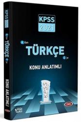 Data Yayınları - Data Yayınları 2021 KPSS Türkçe Konu Anlatımlı