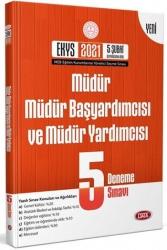 Data Yayınları - Data Yayınları 2021 MEB Müdür ve Müdür Yardımcılığı Fasikül 5 Deneme Sınavı