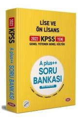 Data Yayınları - Data Yayınları Data Yayınları KPSS Lise ve Ön Lisans A Plus++ Soru Bankası