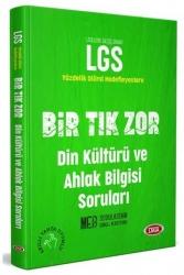 Data Yayınları - Data Yayınları LGS Bir Tık Zor Din Kültürü ve Ahlak Bilgisi Soruları