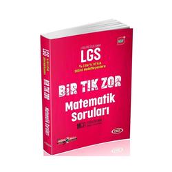 Data Yayınları - Data Yayınları LGS Bir Tık Zor Matematik Soruları