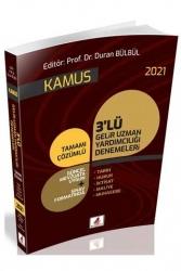 DB Yayıncılık - DB Yayıncılık 2021 GUY Gelir Uzman Yardımcılığı Kamus 3 Deneme