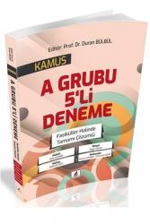 DB Yayıncılık - DB Yayıncılık 2021 KPSS A Grubu KAMUS 5 Deneme Çözümlü