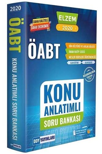 DDY Yayınları 2020 ÖABT ELZEM Din Kültürü ve Ahlak Bilgisi İmam Hatip Lisesi Konu Anlatımlı Soru Bankası