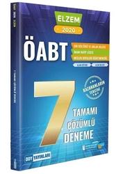 DDY Yayınları - DDY Yayınları 2020 ÖABT ELZEM Din Kültürü ve Ahlak Bilgisi İmam Hatip Lisesi Tamamı Çözümlü 7 Deneme