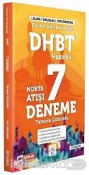 DDY Yayınları - DDY Yayınları DHBT Nokta Atış 7 Deneme Çözümlü