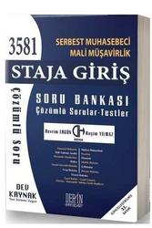 Deha Yayınları - Deha Derin Yayınları 2020 SMMM Staja Giriş Çözümlü Soru Bankası