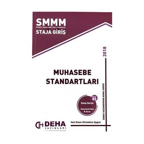 Deha Yayınları 2018 SMMM Staja Giriş Muhasebe Standartları Konu Anlatımlı
