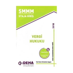 Deha Yayınları - Deha Yayınları 2018 SMMM Staja Giriş Vergi Hukuku Konu Anlatımlı