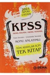 Deha Yayınları - Deha Yayınları 2021 KPSS Genel Kültür Genel Yetenek Konu Anlatımlı Tek Kitap