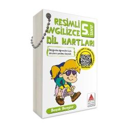 Delta Kültür Yayınları - Delta Kültür Yayınları 5. Sınıf Resimli İngilizce Dil Kartları