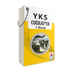 Delta Kültür Yayınları - Delta Kültür Yayınları AYT Coğrafya Kartları