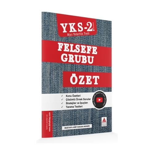 Delta Kültür Yayınları AYT Felsefe Grubu Özet