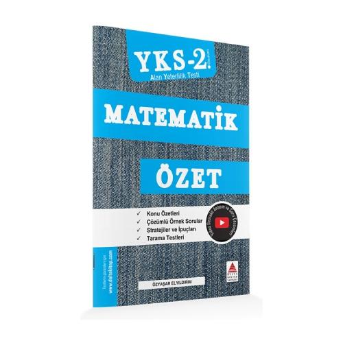 Delta Kültür Yayınları AYT Matematik Özet