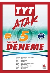 Delta Kültür Yayınları - Delta Kültür Yayınları TYT ATAK Tamamı Çözümlü 5 Fasikül Deneme