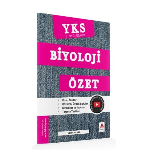 Delta Kültür Yayınları TYT-AYT Biyoloji Özet