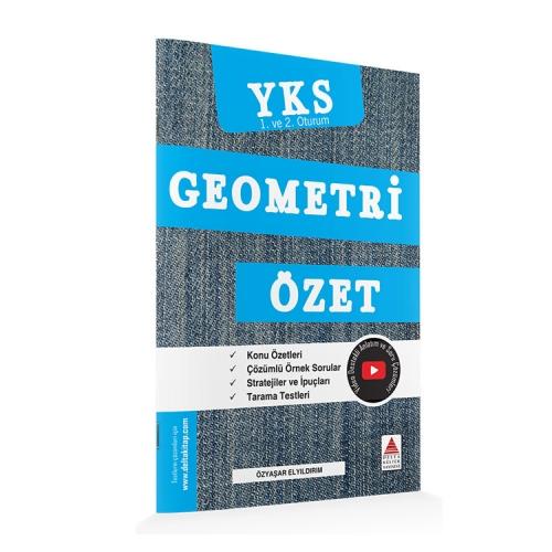 Delta Kültür Yayınları TYT-AYT Geometri Özet