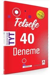 Delta Kültür Yayınları - Delta Kültür Yayınları TYT Felsefe 40 Deneme