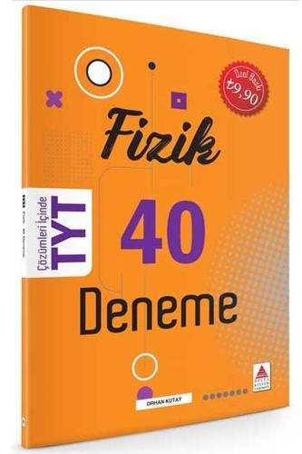 Delta Kültür Yayınları TYT Fizik 40 Deneme